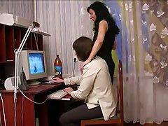 러시아의 섹시한중년여성과 남자-47