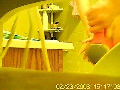 나의 40 년 된 아내 stepping out 의 샤워실