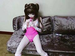 kigurumi 핑크 수영복
