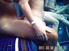 수영장 노출 006