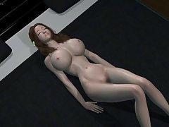 일본 3d 귀여운 여자 달콤한 헨타이 빌어 먹을