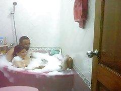 Desi,bhabhi 을 목욕 가진의 남편