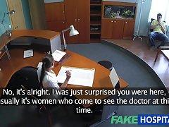 fakehospital 섹시 한 간호사 하드 사무실 섹스 환자 치유