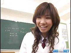 일본어 그녀의 음부 연주와 더러운 손가락