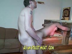 중세 금발 로즈 우드 아시아 처벌