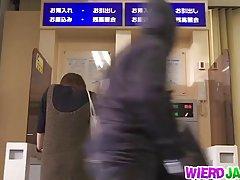 일본에서 더러운 행동 하드코어