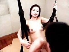 중국인 여성 보스 fuck 직원