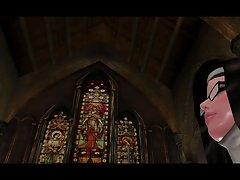 후타나리 수녀는 신부 (큰 가슴)를 빌어 먹을