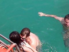 태국 바다에 러시아 십 대 섹스