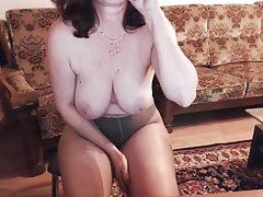 Hot 러시아 성숙한 요 48 마리아 역에 스카이프(Skype)