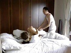 아시아 사람 teases 및 Fucks 그의 섹시 아시안 알렉시스 텍사스다.