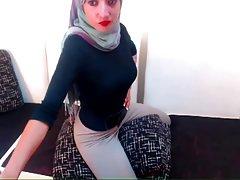 Hijab 섹시한 놀이기구개 Masturbation