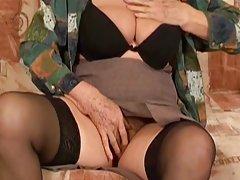 할머니는 그것 again4Maria kiss jk1690