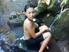 인도 말레이어욕에서 강