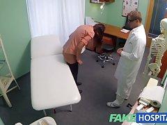 fakehospital 마른 금발 걸립니다 의사 조언