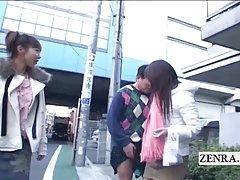 자막 원격 제어 public 일본 femdom 는 구개 애타게