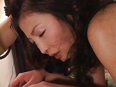 일본 섹시한중년여성 더블 침투한 섹